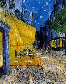 Cafe Terrace on the Place du Forum: Van Gogh